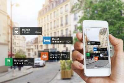 realta aumentata e smartphone